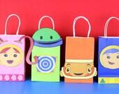 Team Umizoomi Favor Bag Instant Download