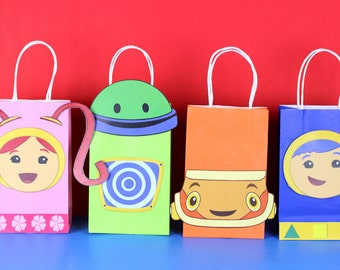 Team Umizoomi Favor Bag Instant Download