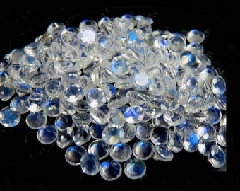 10 pieces 3mm faceted moonstone round faceted rainbow moonstone round  blue flash moonstone faceted loose gemstones Top Quality moonstone