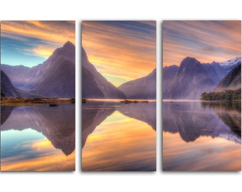 3pc. Amazing Norway  HD Canvas