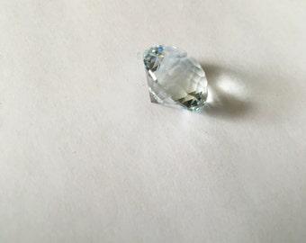 Faceted 18ct Aquamarine Gemstone