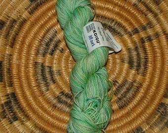 Koigu Mori Hand Painted Merino Wool and Mulberry Silk Yarn Made in Canada Crochet Knit