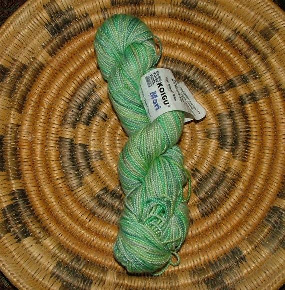 Koigu Mori Hand Painted Merino Wool And Mulberry Silk Yarn