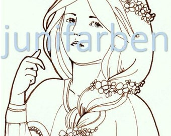 Flower girl download image