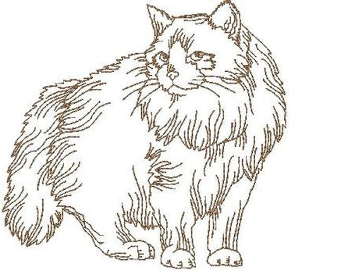 Ragdoll Cats  ( 10 Machine Embroidery Designs from ATW )