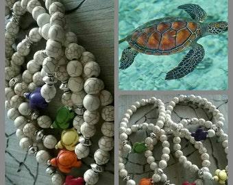 Turquoise bracelet of ⭐ turtle