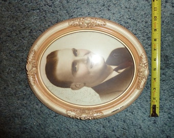 Vintage photo and frame