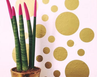 Confetti Dots~ Polka Dot Wall Decals~Circle Wall Decals~Polka Dot Wall Stickers~Confetti Wall Stickers~ Nursery Wall Stickers~Wall Stickers