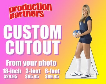 Custom Cardboard Cutout