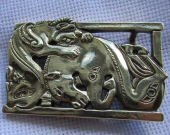Buckle belt Scythian style bronze