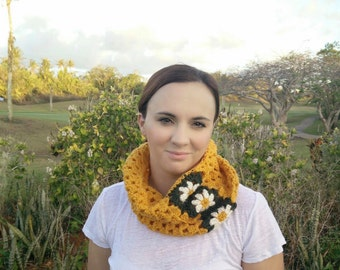 Crocheted Neck Warmer/Cowl