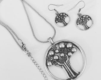 Tree of Life Necklace and/or Earrings
