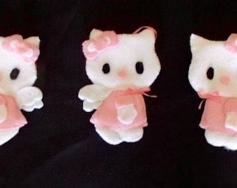 Cute Hello Kitty Felt Ornament
