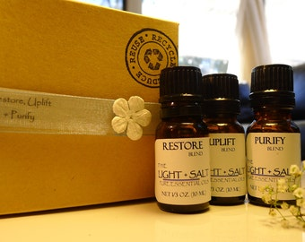 Aromatherapy Blend - Essential Oil Trio