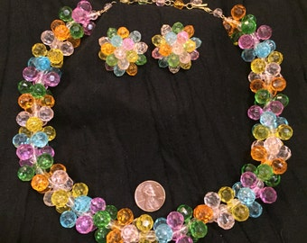 Awesome Fiesta Necklace and Earring Set