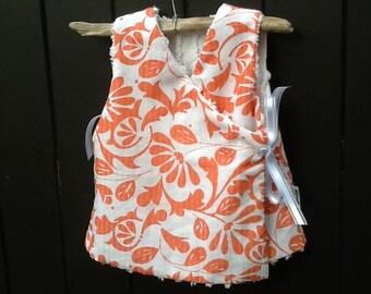 Cute candlewick reversible vest