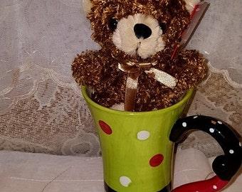 MUG-Bear Hug Mug- Polka Dot - 16-BMUG-Polkadot-0001-Tall