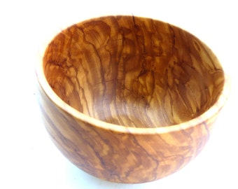 Turned  Olive Wood Bowl
