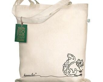 Organic natural bag squirrel