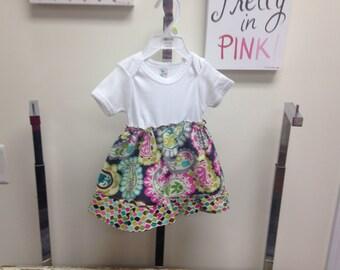 Onesie dress for girls 3-6 months