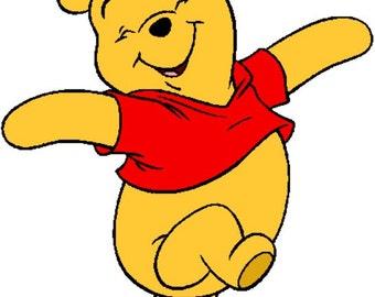 Winnie The Pooh Crochet Graph Pattern. PDF Instant Download.