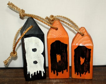 Booies, Nautical  Bouy's, Halloween decorations Set of 3 bouys