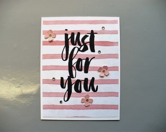 Stampin Up Botanicals for You