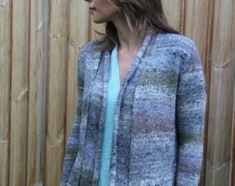 Japanese Noro yarn Cardigan