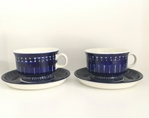 Unique Blue White Tea Cup Related Items Etsy