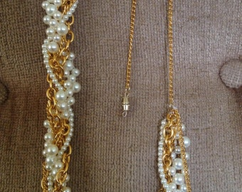 Pearl-Chain Necklace