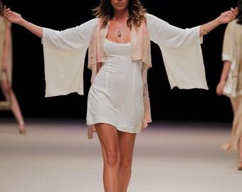 Dress Japanese / vest asymmetrical