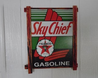 TEXACO SKY CHIEF Gas Station Sign