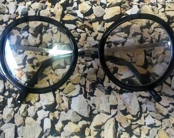 Alaina Round Clear Frames