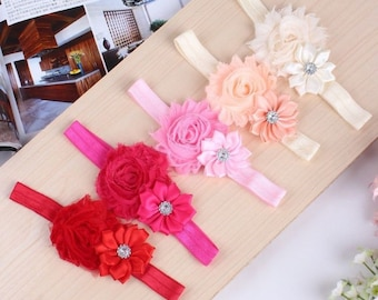 Cute and girly bows and headbands