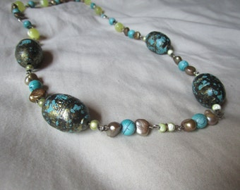 Turquoise Vintage Style Necklace
