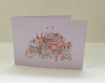 West Bridgford Greetings Card