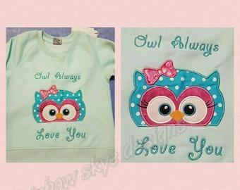Owl jumper owl always love you