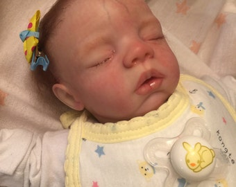 Reborn newborn preemie Babydoll Megan