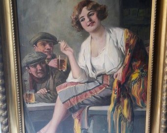 Richard Geiger oil painting