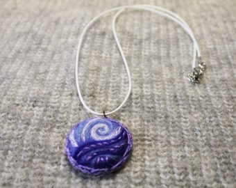 Woolen necklace woolen jewelry