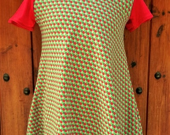 retro girl dress