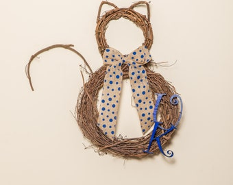 University of Kentucky Wildcat Wreath