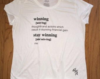 Winning TShirt
