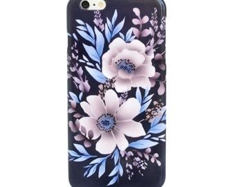 Floral iPhone Case iPhone 6S Plus iPhone7 Case, iPhone6 Plus Case, Samsung Galaxy S7 Case, Flower iPhone 5S Case Floral Samsung Galaxy S6 ca