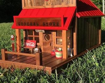 Coca-Cola General Store Bird House
