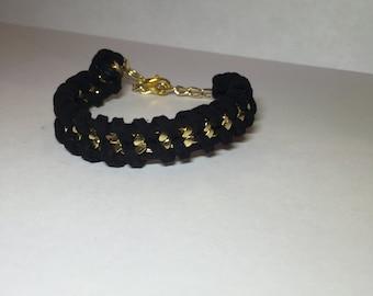 link  Suede Bracelet