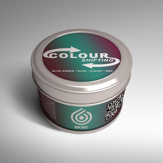Colour Shifting Pigments - Blue-Green / Blue / Violet/ Red