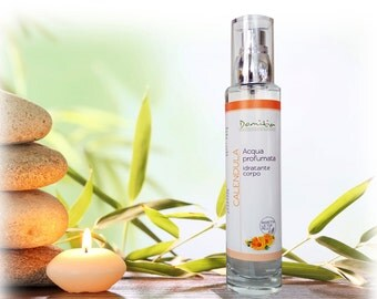 Marigold-scented water moisturizing body-Flac. spray 100 ml