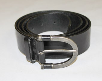 Eddie Bauer  XXL Black Leather Belt