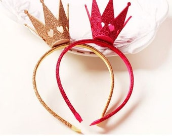 Lovely Gold Headband Crown for Girls/Princess